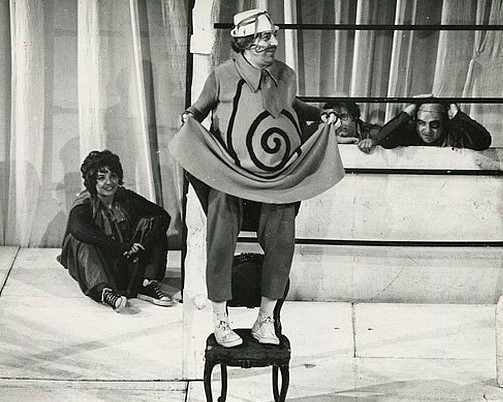 ZORAN RADMILOVIĆ AS KING UBU